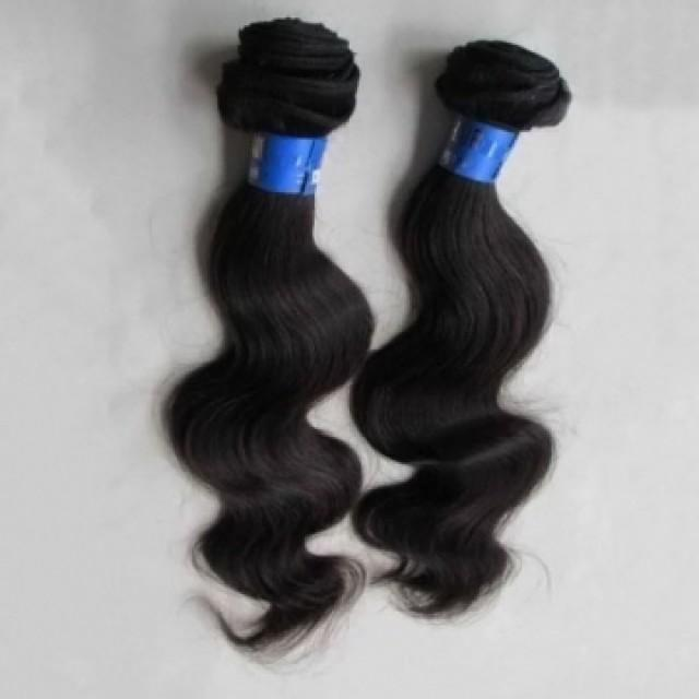 High Quality Hair Extension Real Human Hair 34 Inch Big Body Wave