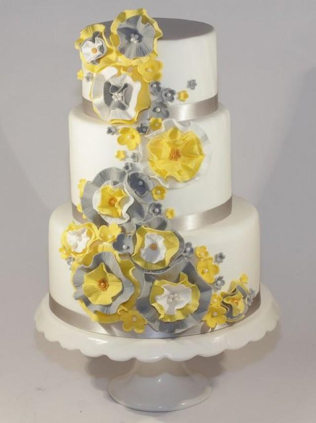 Yellow Wedding - Yellow Cake Ideas & Inspirations #2205877 - Weddbook