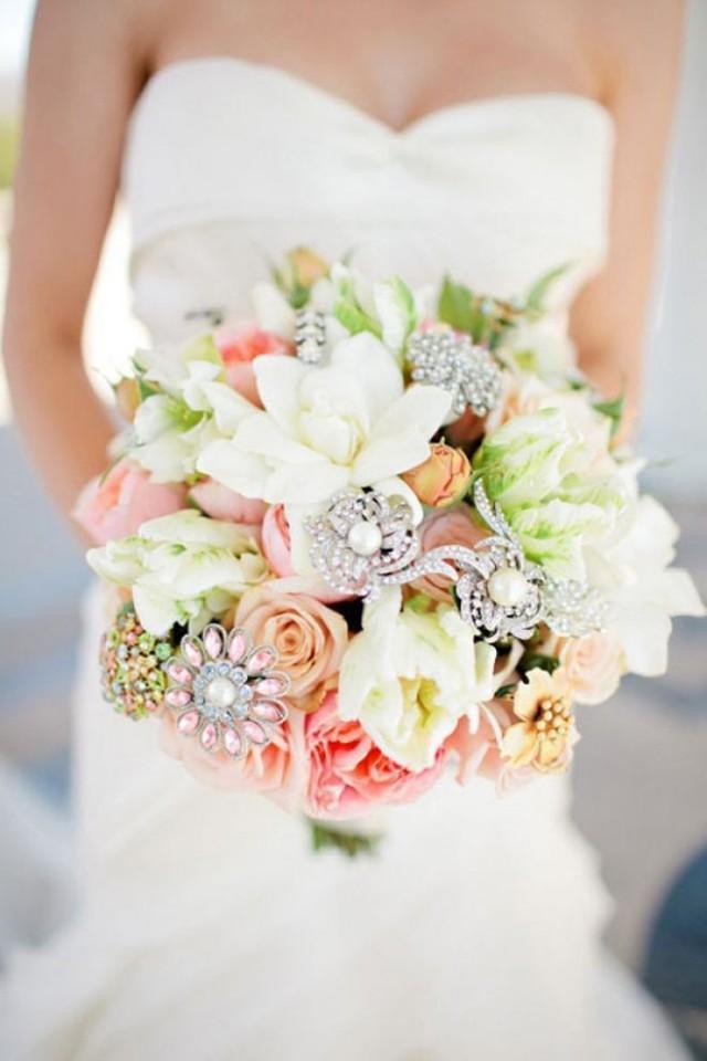 Самый красивый букет для свадьбы