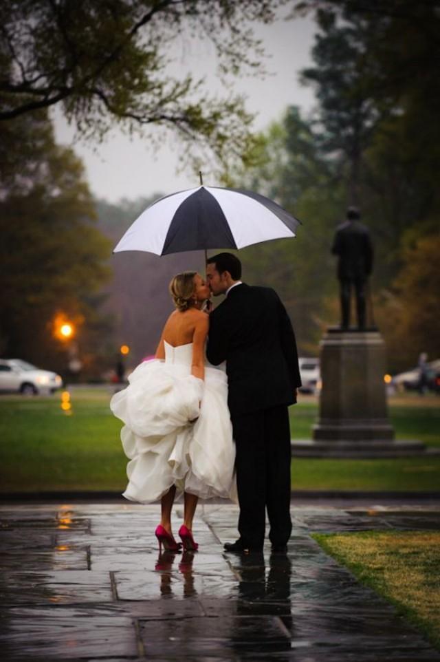 Свадьба в дождь поздравление