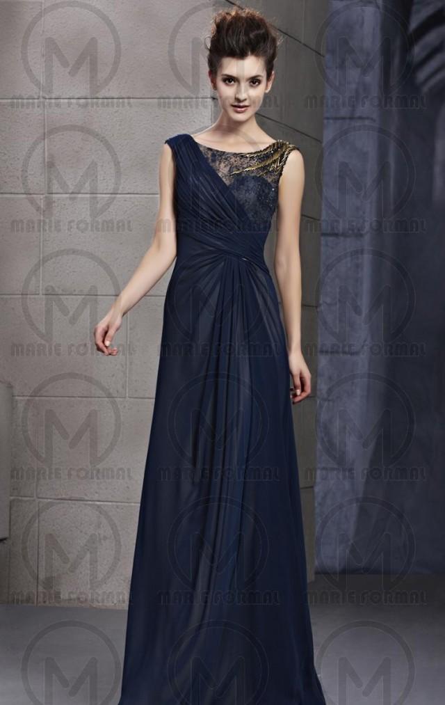 Navy Blue Long Formal Dresses Cheap Formal Dresses Online For Sale