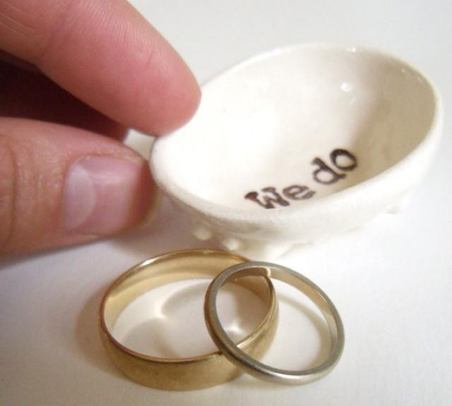 Ring dish for wedding