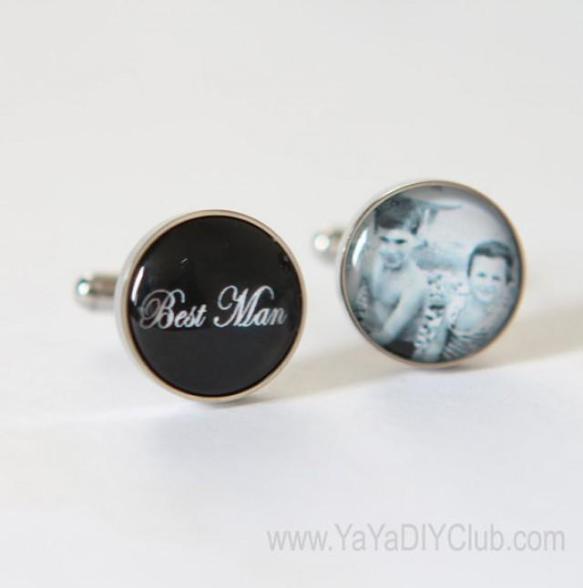 Best Man Gift Groomsmen Cuff Link The Gifts Brother Of Groom Wedding For 2215264 Weddbook