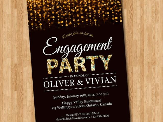 Engagement Party Invitation. Engagement Dinner Invite ...