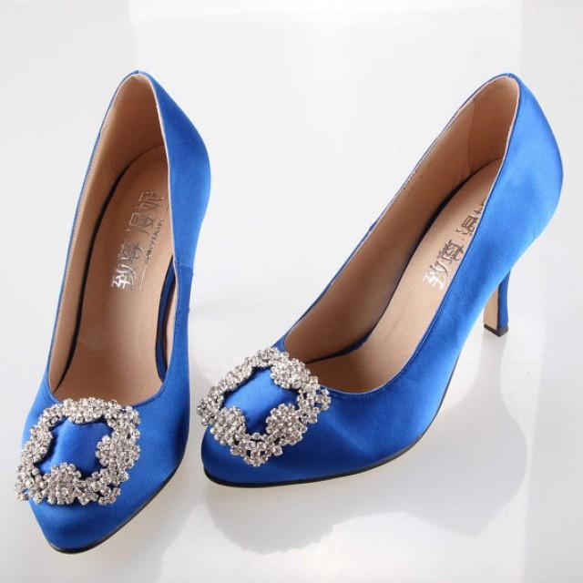 Royal Blue Bags And Shoes