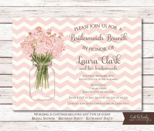 bridal shower invitation birthday invite retirement party