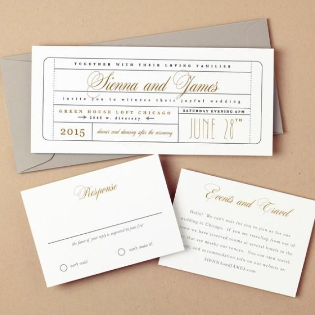 Invitacin printable wedding invitation template 2219243 weddbook stopboris Image collections
