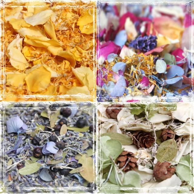 bulk petal confetti wedding potpourri 10 cups dried flowers weddings spring summer fall. Black Bedroom Furniture Sets. Home Design Ideas