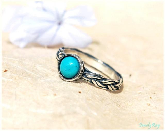 turquoise engagement ring turquoise wedding ring turquoise bezel ring 2219994 weddbook - Turquoise Wedding Rings