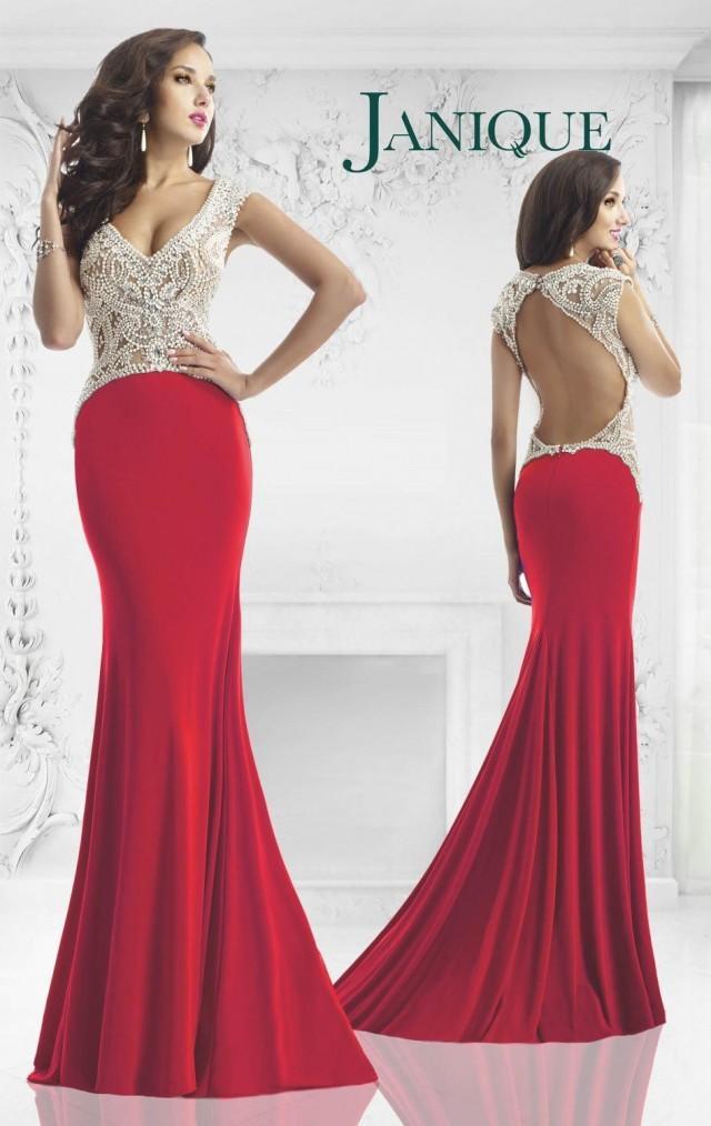 Custom Made Evening Dresses Mermaid Heavy Beaded Hollow V