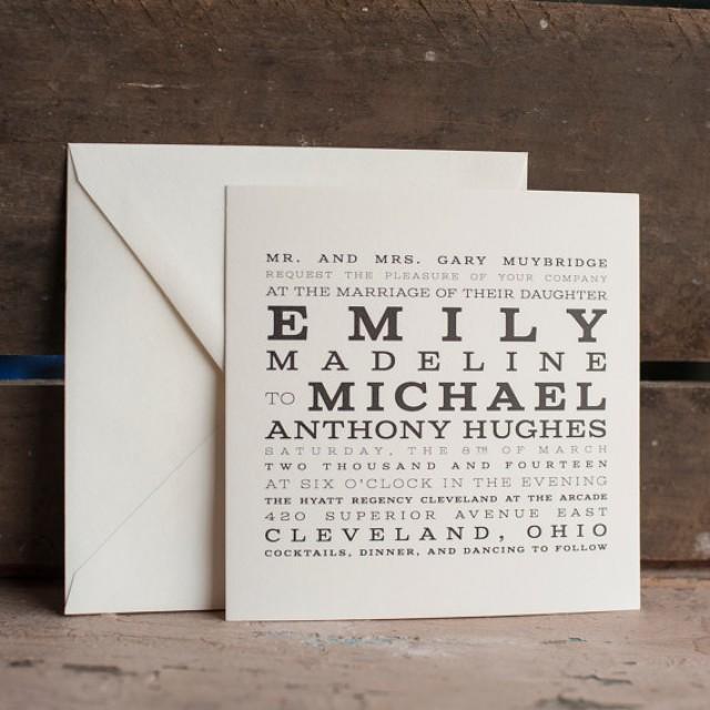 Printable Wedding Invitation, Wedding Invitation Template - The ...