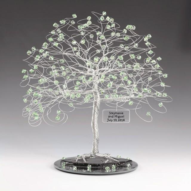 Personalized Wedding Cake Topper Tree Cake Topper