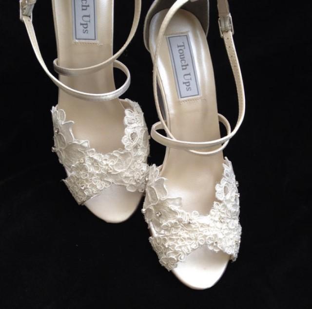 Spitze Hochzeit Wedge Heel Wedding Shoes 2234168 Weddbook