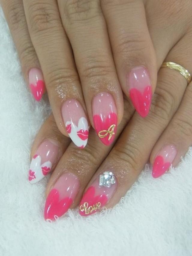 Valentines Day Stiletto Nails Nail Trends Nail Art 2235622