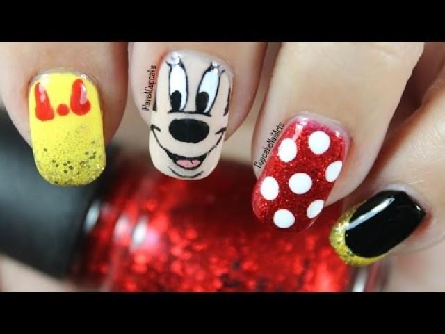 Mariage Disney Disney Nail Art Minnie Mouse 2236272 Weddbook