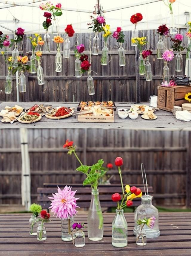 Украшение своими руками двор для свадьбы