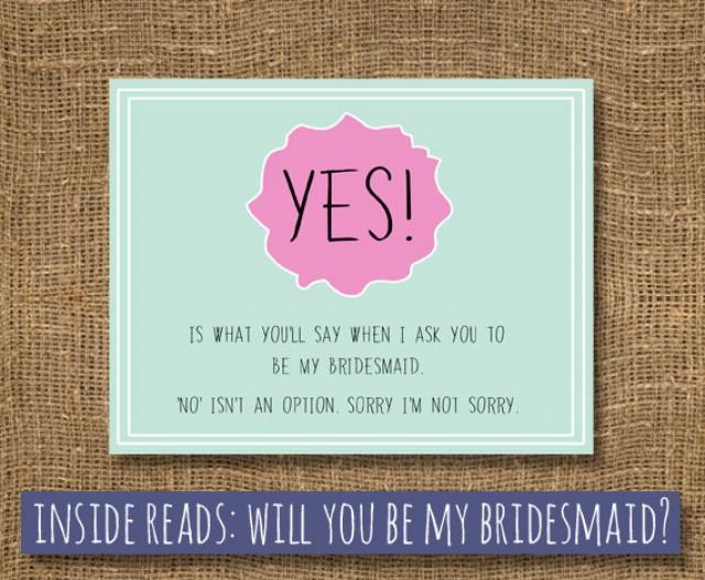 Beautiful Funny Ways To Ask Bridesmaids To Be In Your Wedding Photos ...
