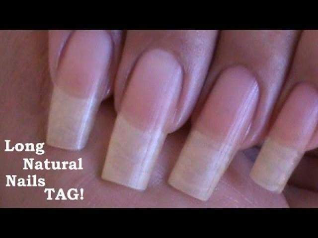 Nagel - Long Natural Nails! Tag! ( Love4Nails ) #2242747 - Weddbook