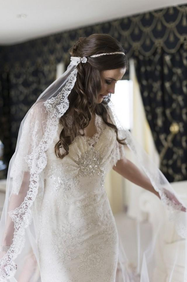 A Vintage Look Elie Saab Wedding Dress For A Channel Islands
