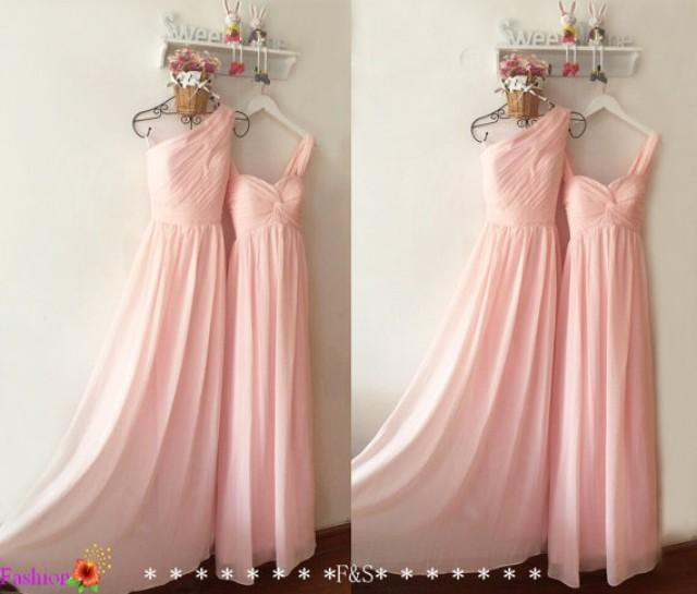 Pregnant Bridesmaid Dress,Blush Pink