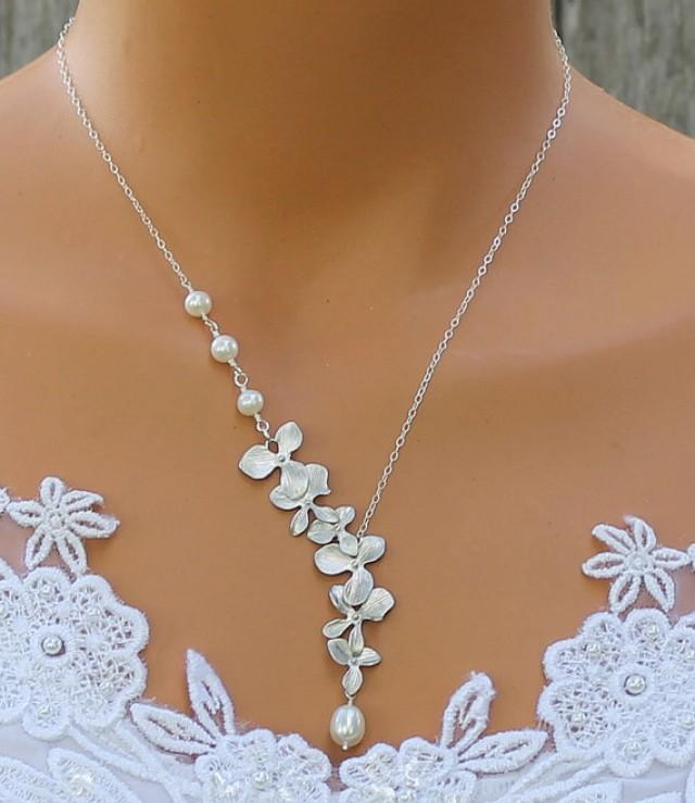 Freshwater Pearl Necklace, Orchid