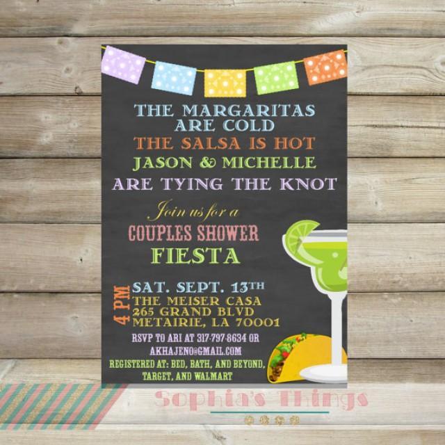 Couples Dinner Party Ideas Part - 38: Couples Shower Fiesta Invitation, Cinco De Mayo Party Invitation,  Engagement Party Invitation, Rehearsal Dinner Invitation, Fiesta #2246980 -  Weddbook
