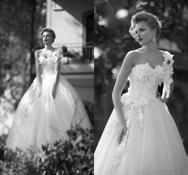 Discount Designer Wedding Gowns: 2015 New Designer Wedding Dresses Cheap Garden One