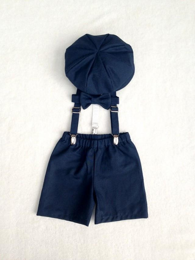 Baby Boy Ring Bearer Outfit Cake Smash Outfit Newborn