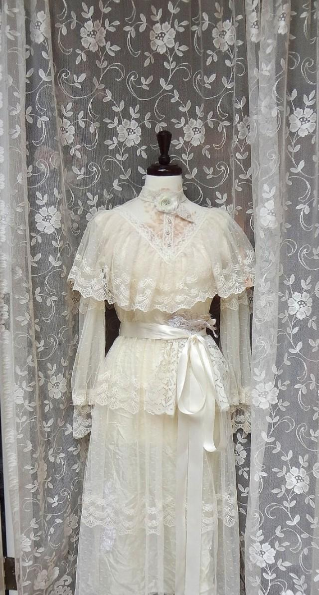 Romantic Cowgirl Wedding Dress Altered Couture Wedding