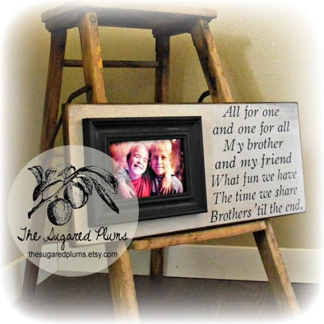 special picture frames for brothers № 762