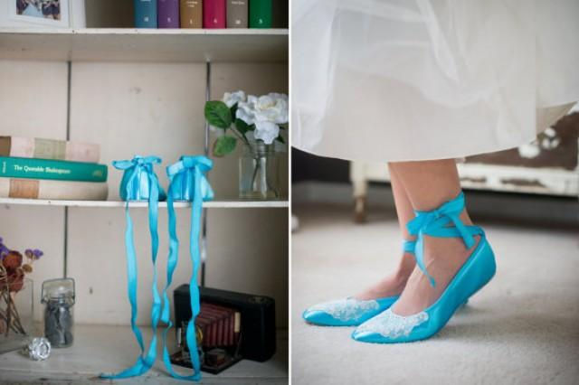 476047bcba Wedding ballet flats vintage lace bridal shoes embellished with lace from a  vintage handkerchief and ankle tie strap removable ribbons