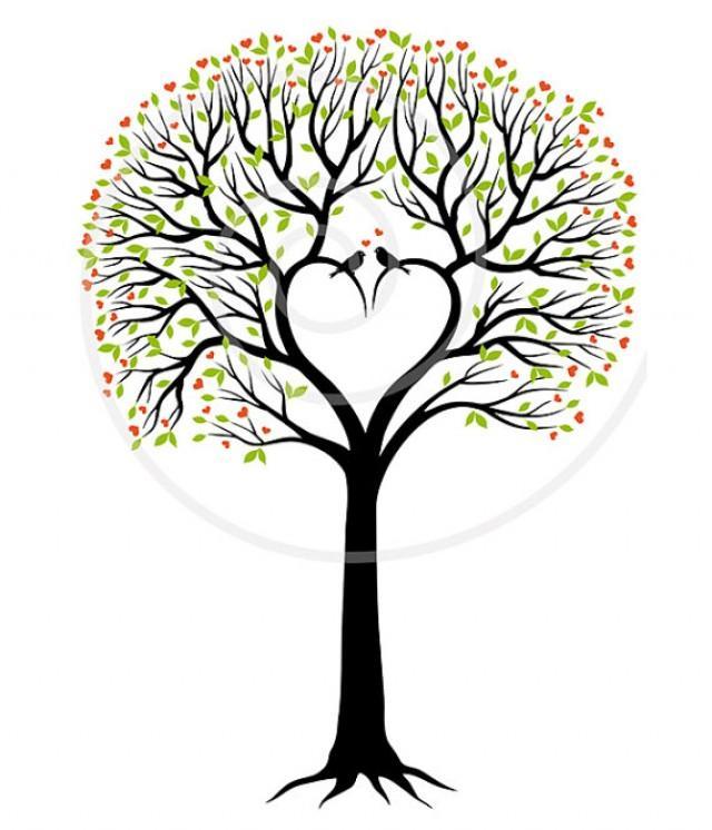 Wedding Invitation, Wedding Tree, Guest Book, Wedding ...
