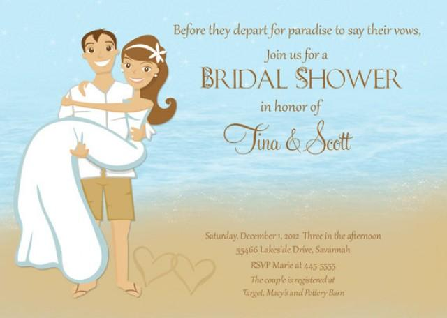 beach couple shower bridal shower invitation printable 2260532 weddbook