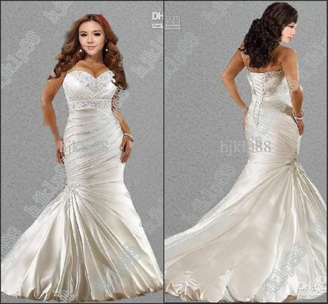 Hot sale new sexy mermaid sweetheart plus size