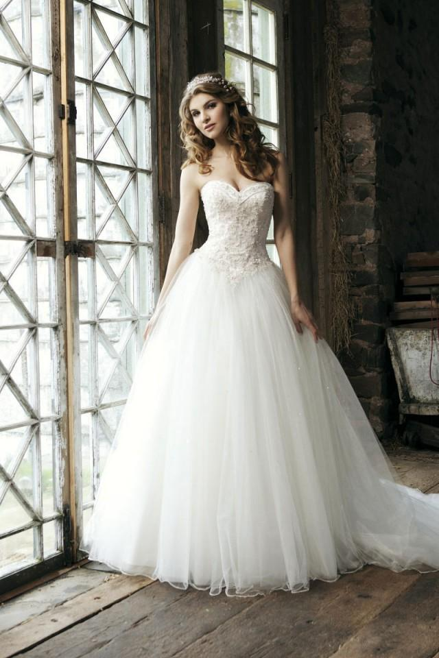 Bridal Beading Gown Tulle Exquisite Wedding Dress - Cheap-dressuk.co ...