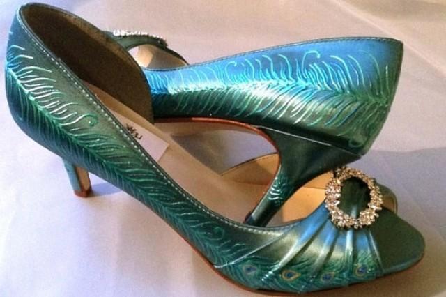 Peacock Blue Dress Shoes