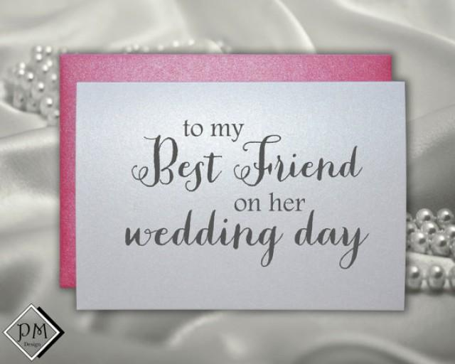 wedding card to best friend bridal shower cards bestie engagement party card bff bachelorette card wedding day gift note for wedding gift 2268643