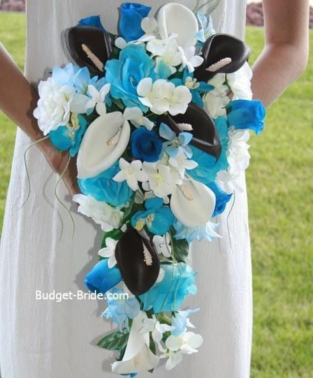 Blue Wedding Bouquets Ideas & Inspirations #2269748 - Weddbook