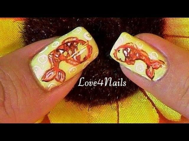 Nagel - Koi Fish Nail Art Tutorial #2270648 - Weddbook