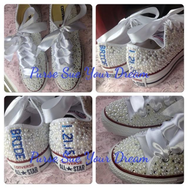 Personalized Wedding Slippers Bridal Party Slippers: Swarovski Crystal Wedding Shoes