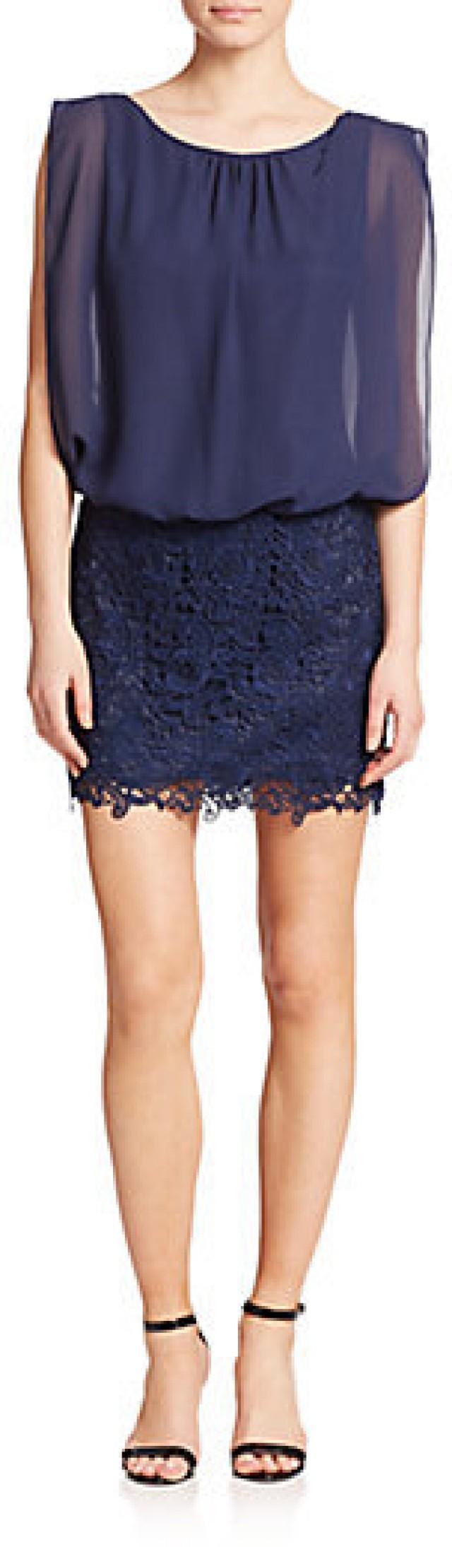 Aidan mattox lace skirt blouson bridesmaid dress 2277742 weddbook ombrellifo Choice Image