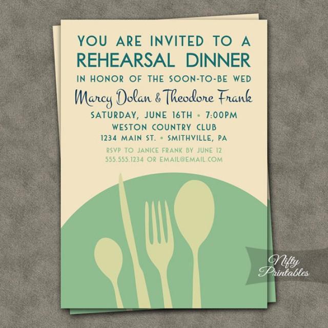 mint green rehearsal dinner invitations modern rehearsal dinner