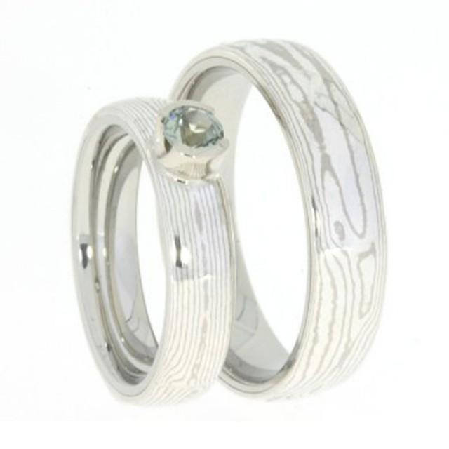Mokume Gane Wedding Band From Different Colour To Including
