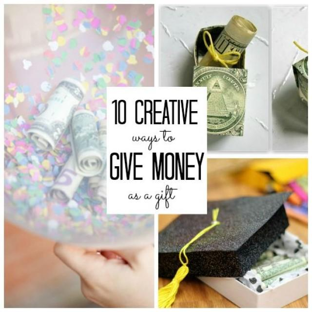 How To Give Money As A Wedding Gift: 10 Creative Ways To Give Money As A Gift #2282185