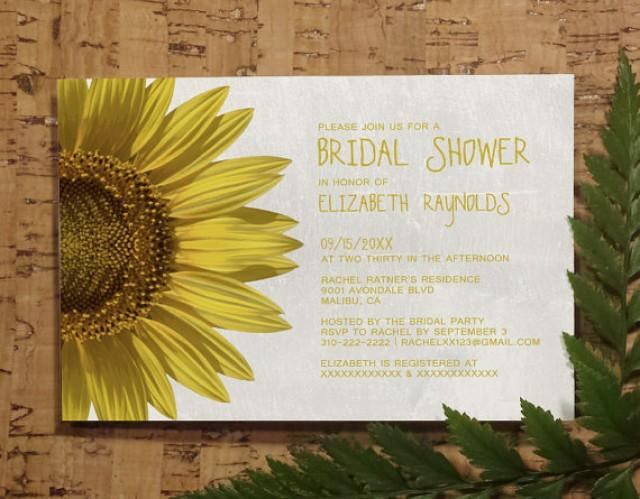 Sunflowers bridal invitations bridal shower invitations wedding sunflowers bridal invitations bridal shower invitations wedding shower party invites printable digital pdf diy template printed cards 2284270 filmwisefo