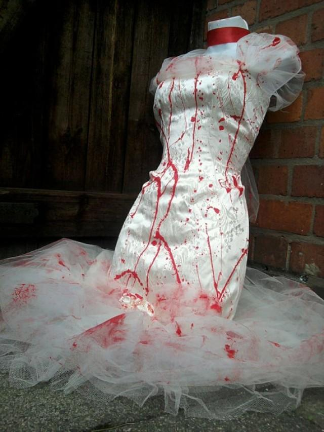 Sensational sale half price zombie bride wedding dress for Corpse bride wedding dress for sale