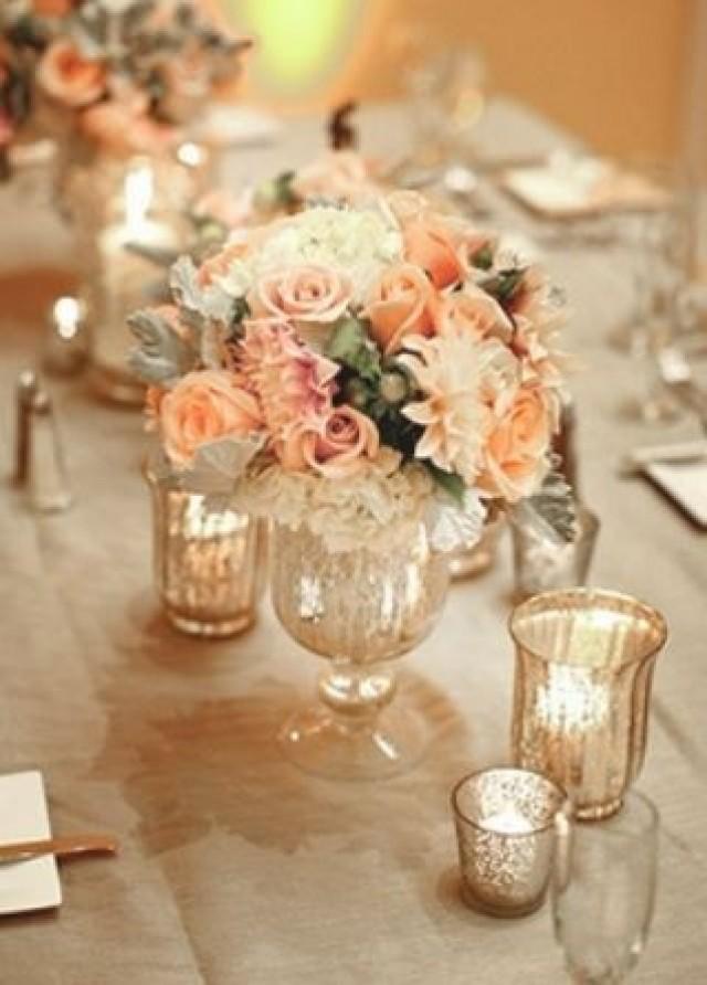 Peach Wedding Peach Wedding Flowers 2287202 Weddbook