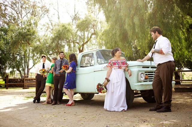 Juquila Oaxaca Mexican Wedding Dress Pure Cottton And Linen Ethnic ...