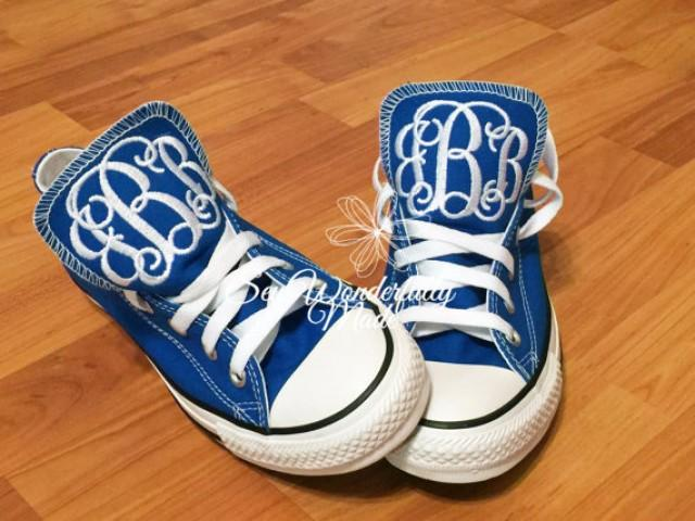 48b26375fae6 ... where can i buy monogrammed converse low top fresh colors monogrammed  wedding day shoes fresh colors