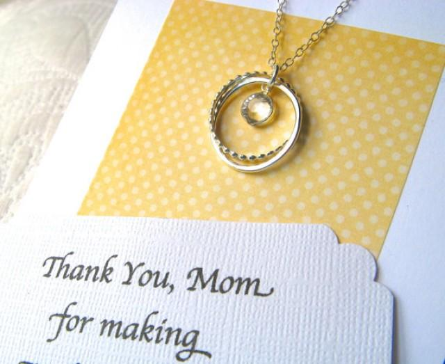 Mother Of The Groom Gift: Mother Of The Bride Gift With POEM CARD Mother Of The